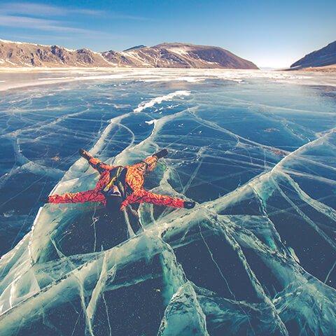 Зимнее путешествие по Байкалу