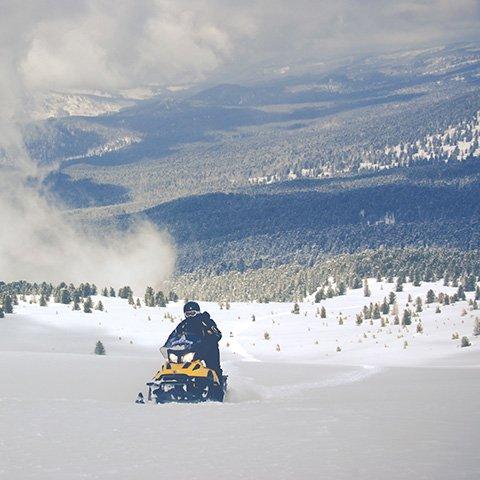 Большое путешествие на снегоходах с Adventurity
