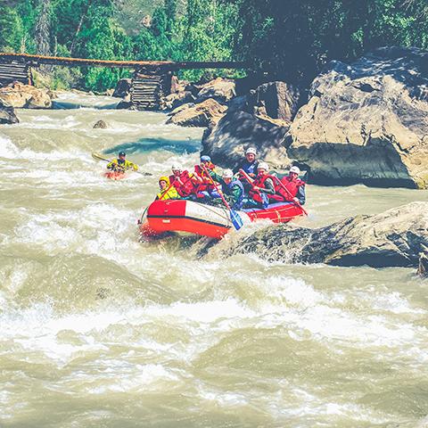 Сплав по реке Чуя и Катунь