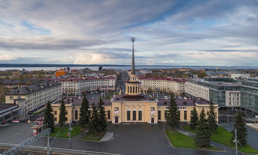 Панорама Петрозаводска. Фото с официального сайта города visitpetrozavodsk.ru.