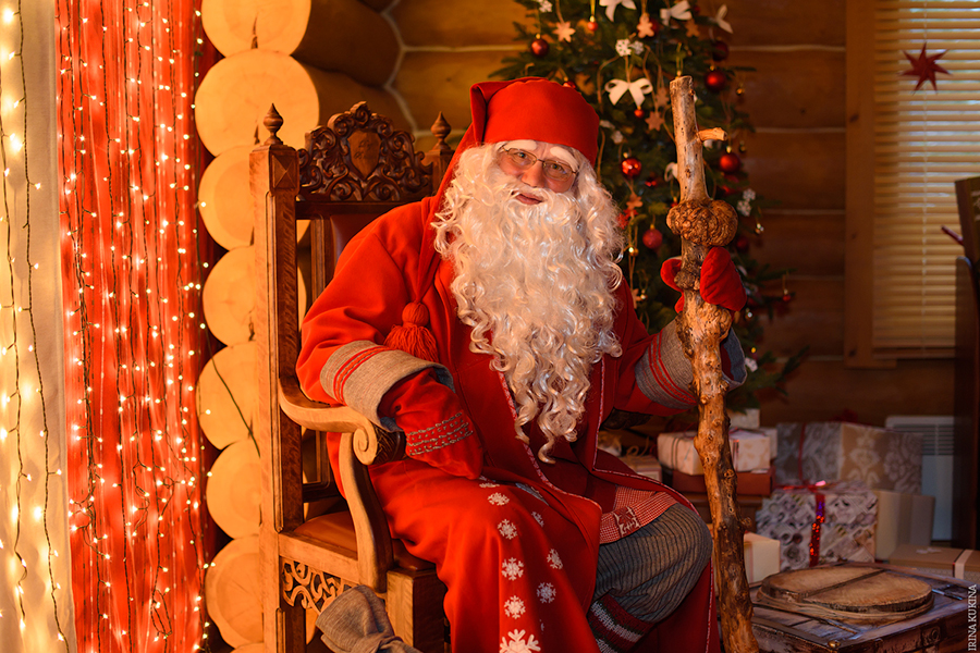 """Дед Халла — один из двух """"Дед Морозов"""" Карелии, а точнее — старший брат Санта Клауса. Фото с официального сайта поместья."""