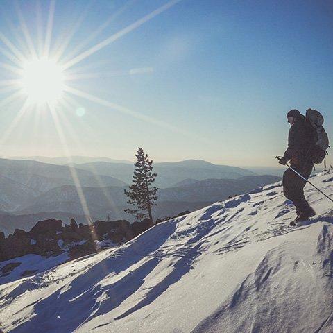 На лыжах в сибирскую тайгу