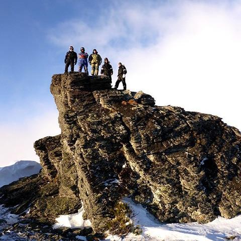 Экспедиция на перевал Дятлова на снегоходах