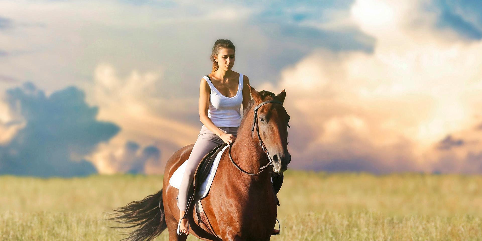 Выходные в деревне: цифровой детокс и прогулки на лошадях