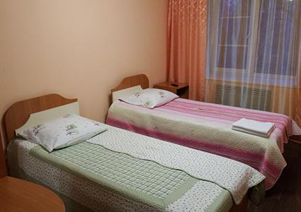 Гостиница Фламинго в Паратунке, номер
