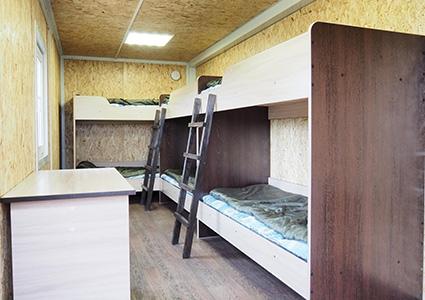 Номер в горном приюте на Камчатке