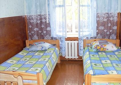 Номер в гостевом доме в Северобайкальске