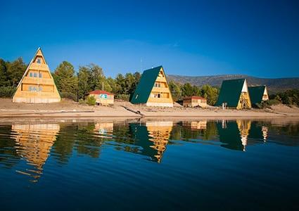 Туристическая база Ласковый берег на Байкале