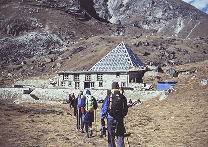 Лоджи на пути в Базовы лагерь Эвереста