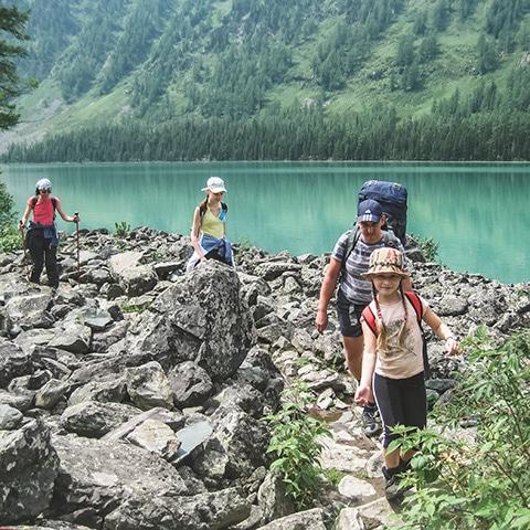 Треккинг к Мультинским озерам