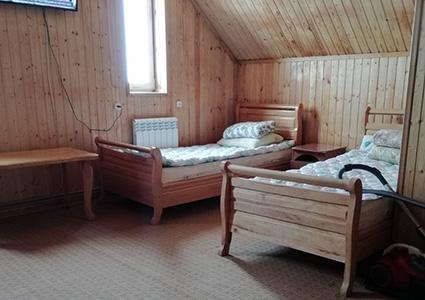 Двухместный номер в гостинице Чипер-Азау