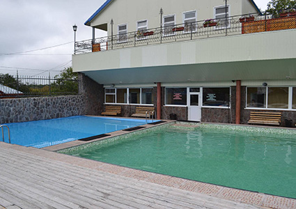 Гостиница Фламинго в Паратунке, бассейн