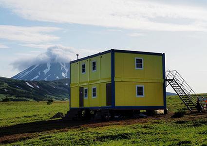 Собственный горный приют в районе Мутновки