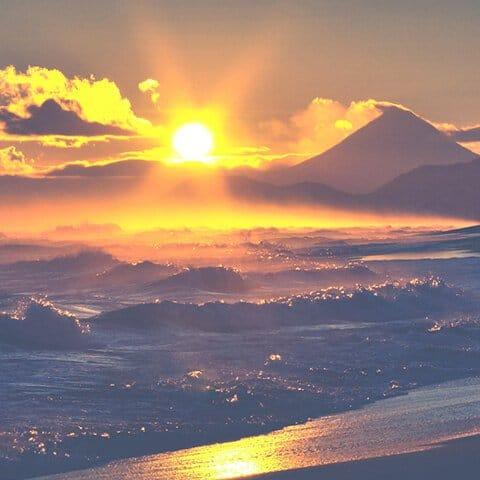 Вулканы и Тихий океан