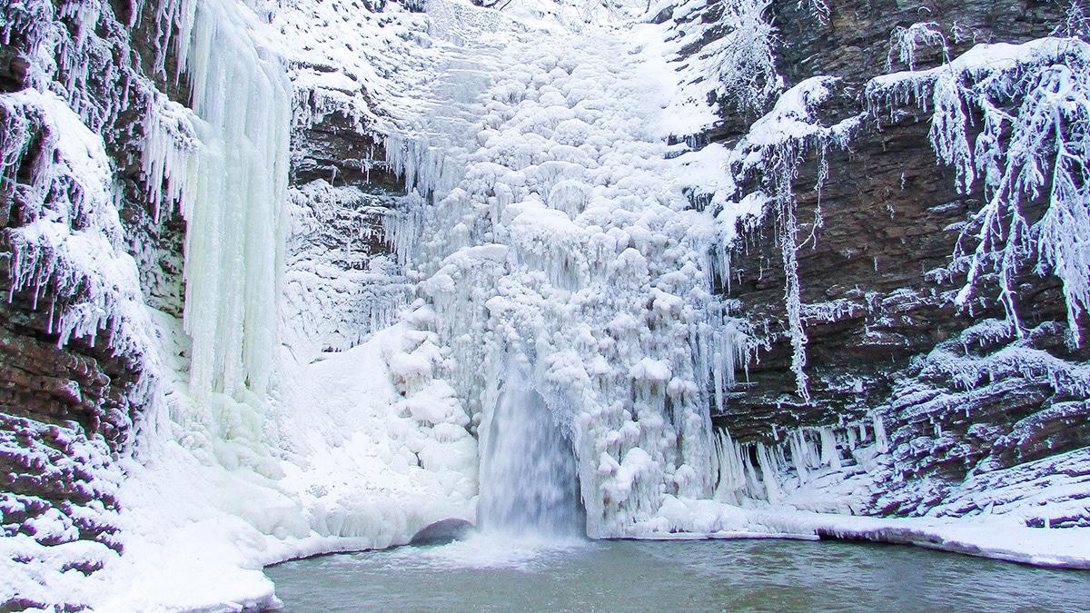 Водопад Девичьи Косы, Руфабго