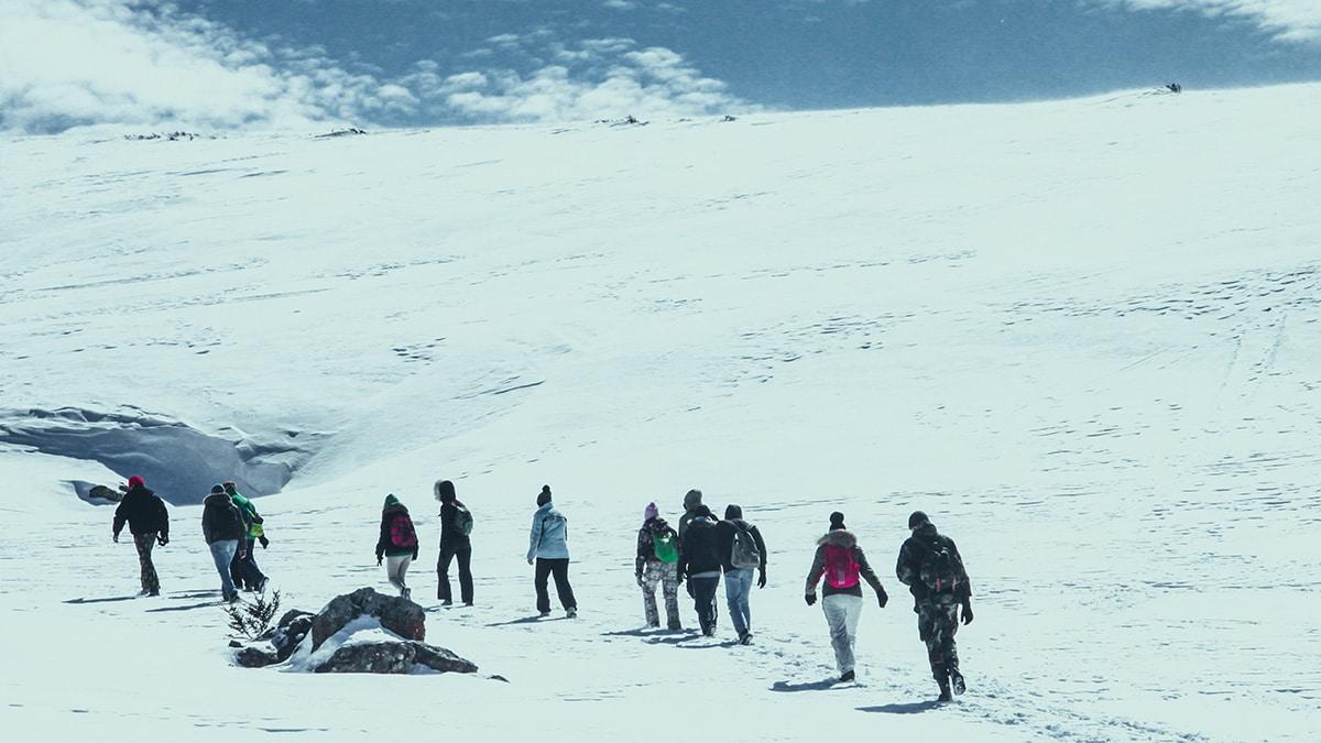 Зима в Адыгее прекрасна!