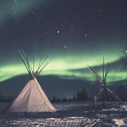 Зимние приключения на Кольском